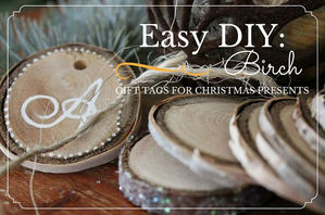 Easy DIY Birch tags