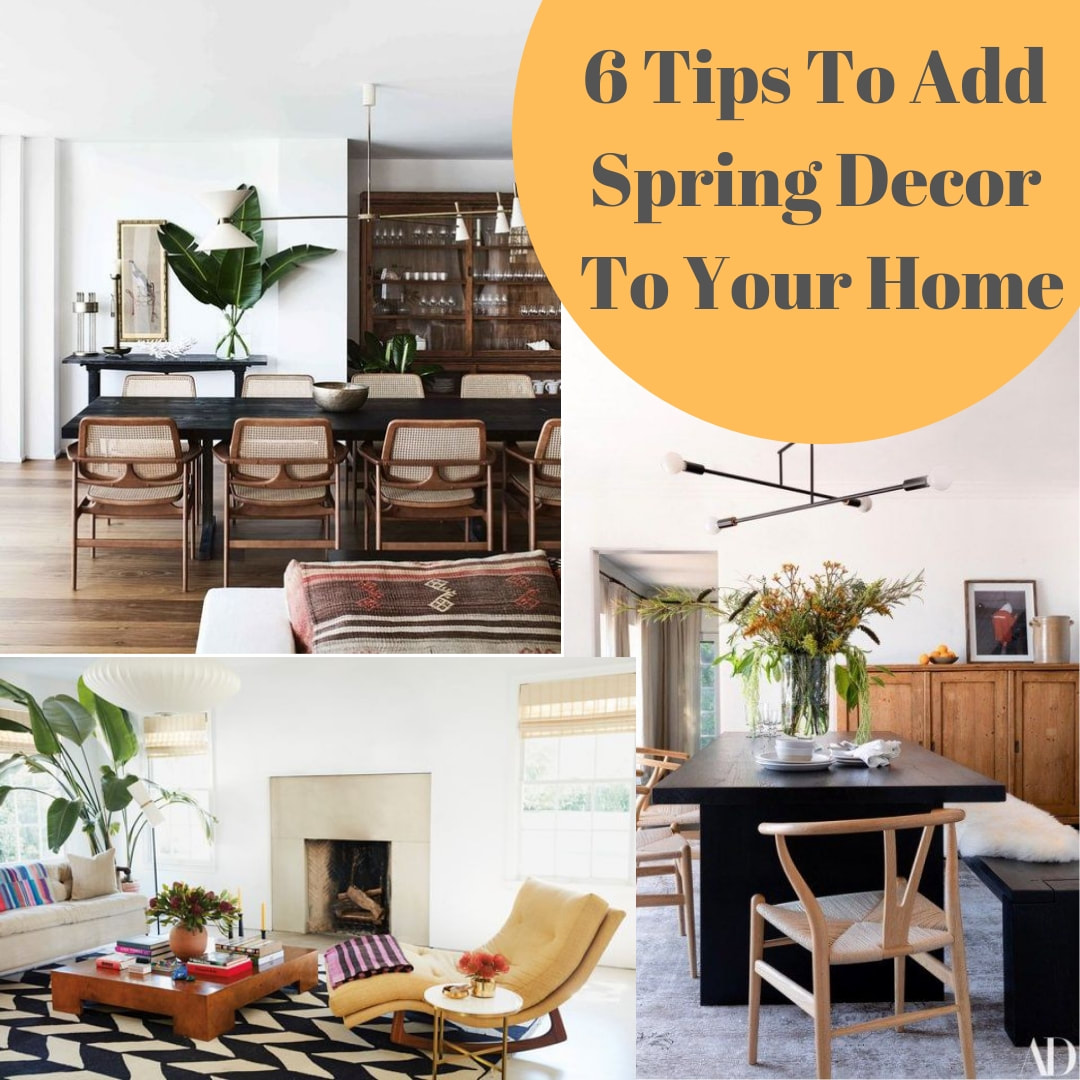 Spring Decor Tips