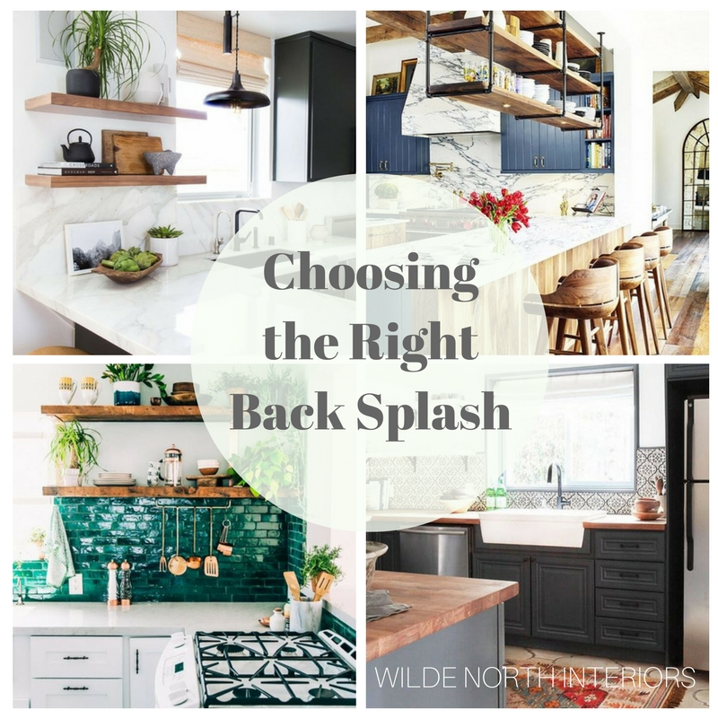 Choosing the right backsplash