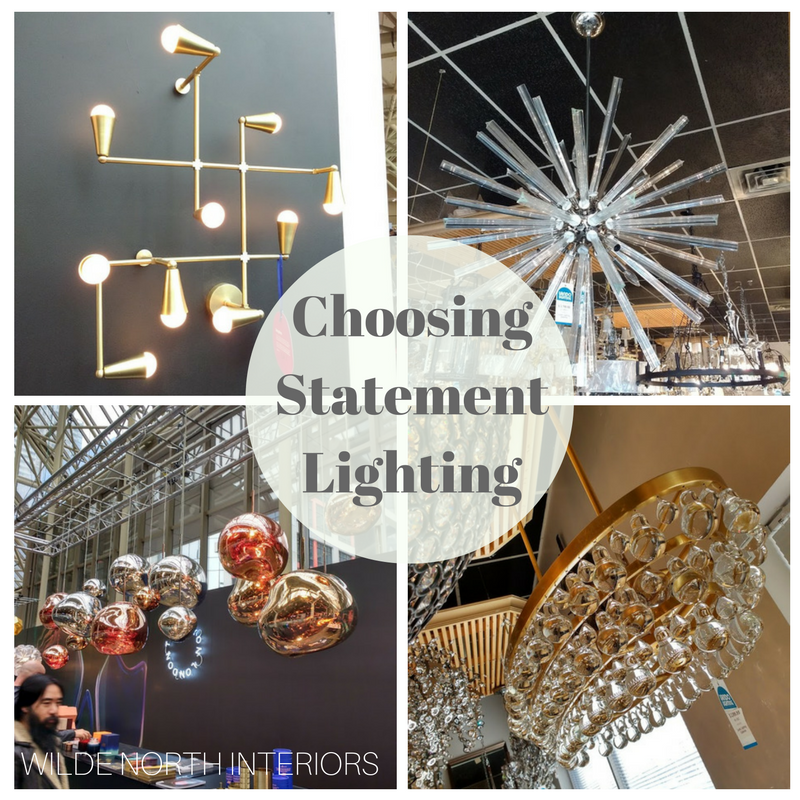 choosing statement lighting