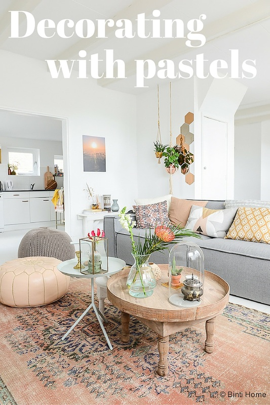 decorating with pastels