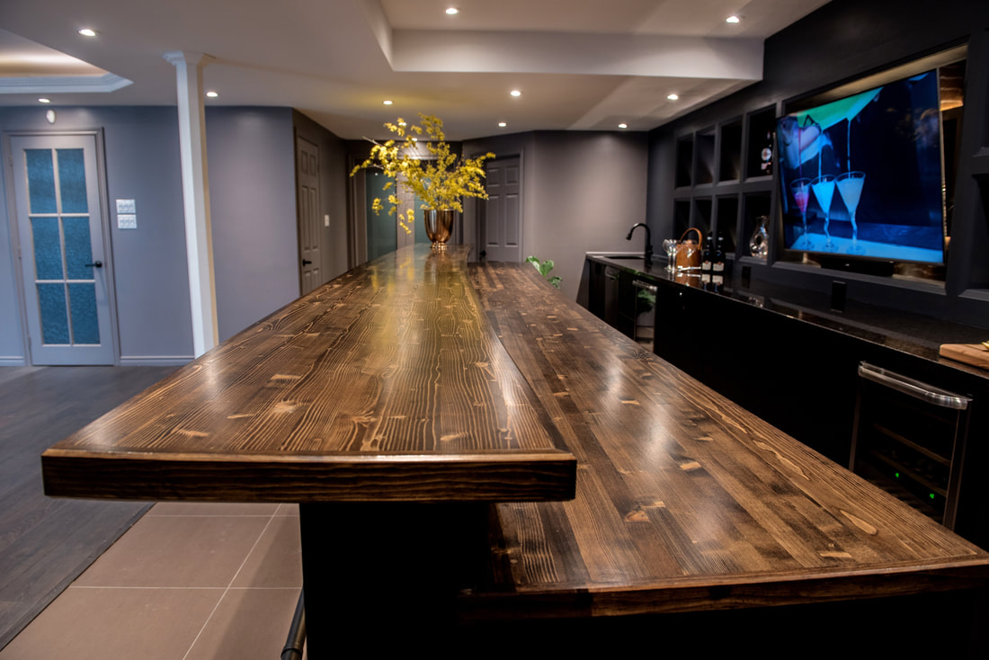 Custom Bar By Wilde North Interiors Toronto Canada Wilde North Interiors
