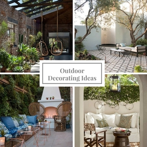 tips for decorating your outdoor spaces