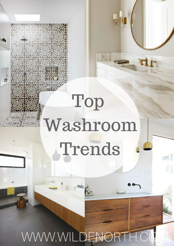 top washroom trends